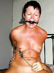 Slave, Granny, Mature bdsm, Mature wife, Mature slave