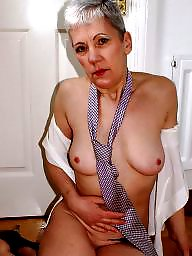 Shirt, Sexy mature, Tied