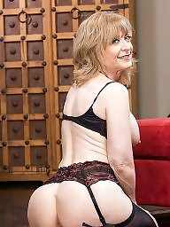 Nina hartley, Black stockings, Nina