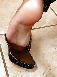 Feet, Teen amateur, Brunette