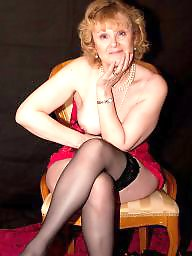 Amateur stockings, Amateur mature