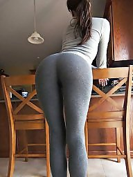 Huge ass, Yoga pants, Huge