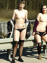 Nudity, Teen outdoor, Public nudity, Teen public, Public, Lesbian teen