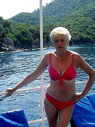 Amateur granny, Grannies, Grannys, Swimsuit