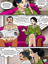 Milf cartoon, Aunty, Story