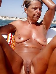 Mature beach, Granny beach, Outdoor