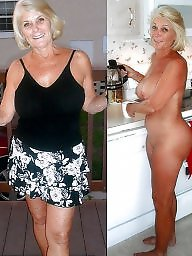 dressed undressed mature and