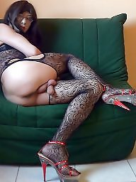 Black stockings, Black mature, Mature stockings, Fishnet, Mature stocking