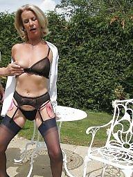 Mature stocking, Lady, Lady b, Mature stockings