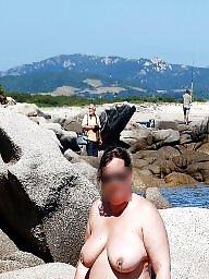 Public milf, Milf beach, Beach voyeur, Exhib, Beach milf