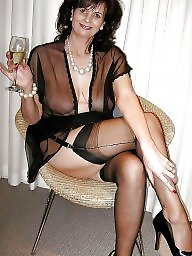 Lady b, Mature slut, Lady, Mature stockings, Mature stocking