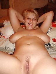 Russian, Russian amateur, Big boobs amateur, Blonde wife, Russian wife