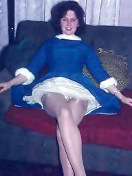 Vintage stockings, Vintage upskirt, Upskirt stockings