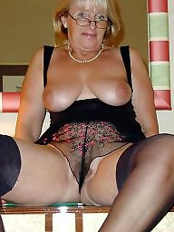 Mature stockings, Lady, Lady b, Mature stocking, Amateur mature