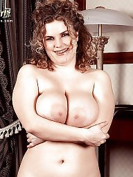 Chubby, Vintage, Chubby mature, Lady