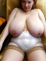 Russian, Anna, Russian mature, Mature big boobs