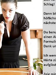Femdom captions, German caption, Femdom caption, Captions, German captions, German teen