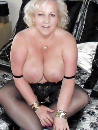Amateur mature, Mature stockings, First, First time