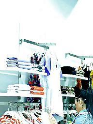 Hidden cam, Old young, Young teen, Spy, Romanian, Shopping