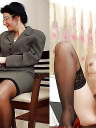 Lady, Mature stockings