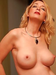 Mature big tits, Cream, Big tit, Mature, Blonde mature, Mature blonde