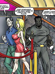 Interracial cartoons, Milf cartoon, Interracial cartoon, Comic, Comics, Interracial
