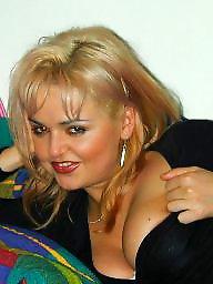 Polish milf, Polish, Busty milf, Busty blonde