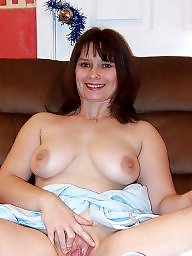 Mature, Lady, Big boobs, Milf