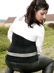 Mature femdom, Mature leather, Mature bdsm, Leather, Femdom, Leather mature