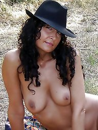 Outdoor, Hairy mature, Mature outdoor, Posing