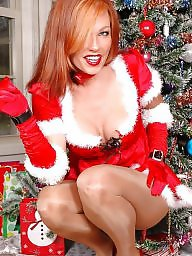 Stockings, Flash, Flashing, Christmas