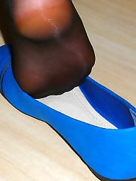 Amateur nylon, Flats, Black teen, Black stockings, Teen nylon, Flat