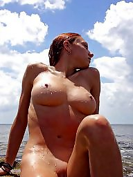 Naked, Outside, Milf public