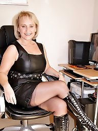 Mature bdsm, Mature leather, Leather, Leather mature