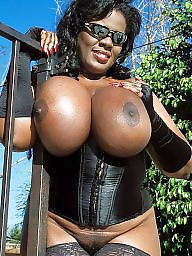 Chubby ebony titts
