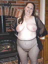 Hairy bbw, Pantyhose, Hairy