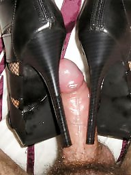 Heels, Amateur boots, High heels, Stocking, Fishnet, Stockings