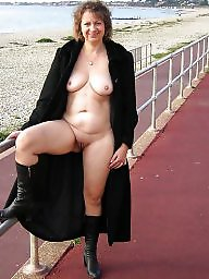 Amateur, Milf, Public, Flashing