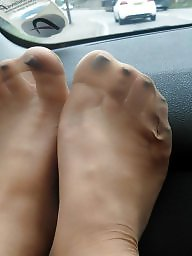 Feet, Bbw mature, Nylon, Mature bbw