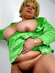 Granny boobs, Bbw granny