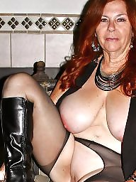 Curvy, Granny stockings, Granny