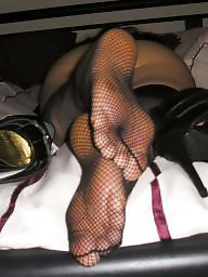 Amateur stockings, Feet, Stocking feet, Fishnet, Stocking, Amateur feet