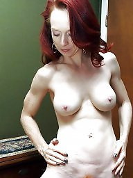 Mature redhead, Saggy, Saggy mature, Mature saggy