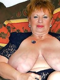 Mature tits, Big nipples, Mature big tits, Aunt