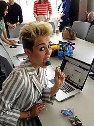 Stop, Mileys, Miley cyrus porn, Cyrus, Non stop, Miley cyrus