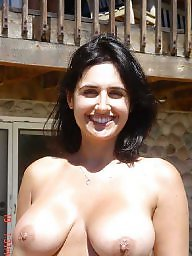 Mature puffy tits