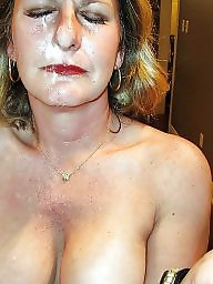 Milf facial, Facials, Dirty