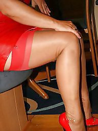 Stockings, Mature, Milf