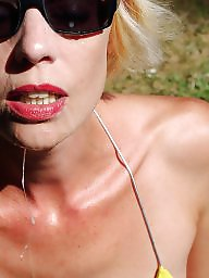 Mature facial, Facial, Facials, Matures, Justine, Amateur facial