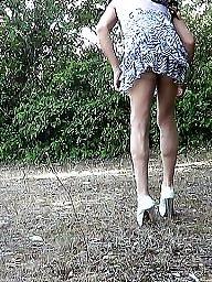 No panties, Amateur stockings, Panties, Panty